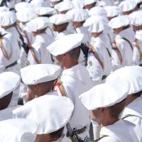 Cérémonie de passation de commandement du 13ème BCA