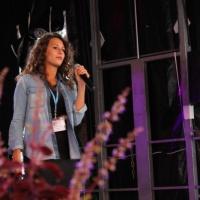 Sa voix de star - Foire de Savoie 2014