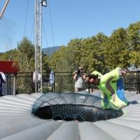 simulateur de vol - Foire de Savoie 2014