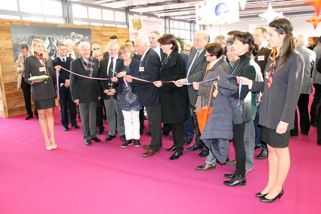Inauguration du salon
