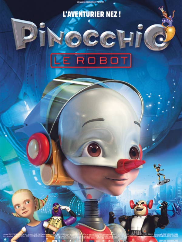 Pinocchio le robot affiche - photo - 600x800