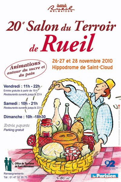 Affiche Salon Du Terroir De Rueil 2010 Photo 400x600