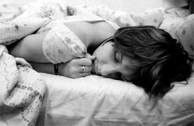 Femme qui dort 400x260