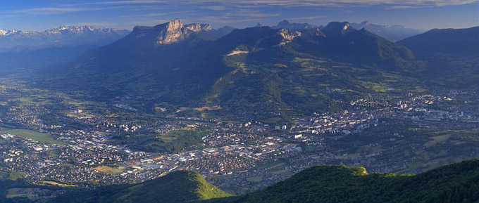 paysage de chambery - Photo