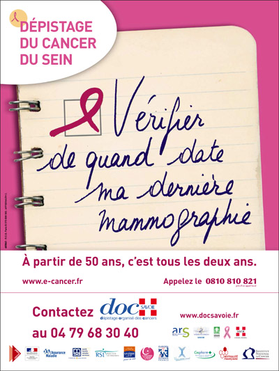 Affiche Octobre Rose 2012 400x533