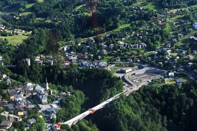 Pont de contournement st gervais les bains photo 400x266 - Office de tourisme de saint gervais les bains ...