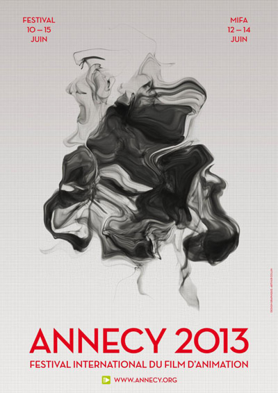 Affiche Festival International du Film d'Animation Annecy 2013 sign�e Arthur Collin