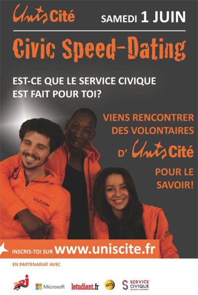 Affiche Civic Speed-Dating Unis-Cit�