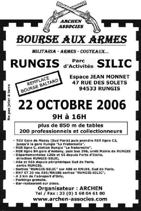 Affiche salon bourse aux armes photo 480x717 for Salon armes