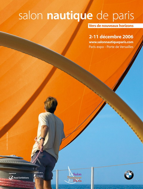 Affiche salon nautique photo 480x636 for Salon nautique nantes