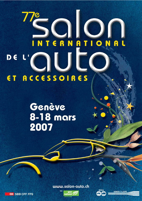 Affiche salon international de l automobile photo 600x849 - Salon international de l automobile de geneve ...