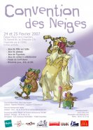 Affiche Convention des neiges de Chamb�ry