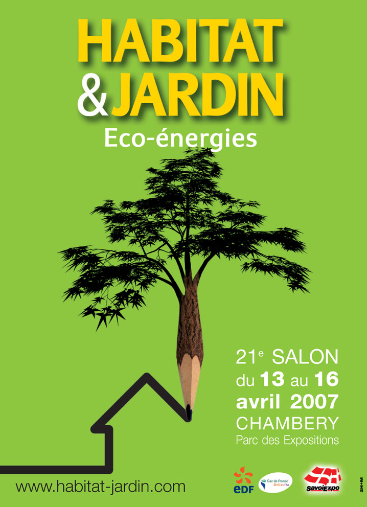 Visuel salon habitat jardin photo 718x992 for Salon habitat chambery