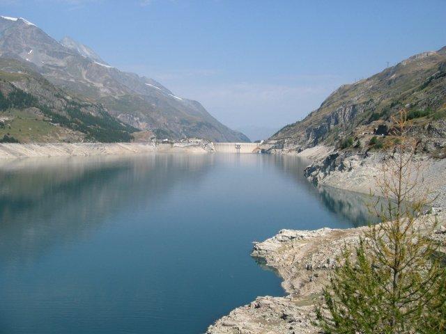 Lac du chevril tignes photo 640x480 - Lac du chevril ...