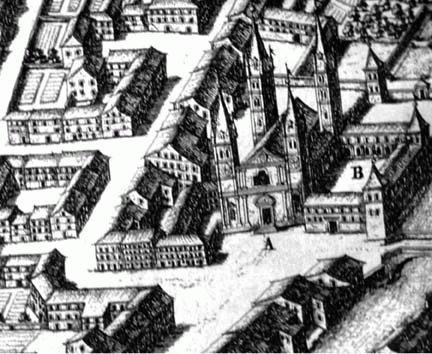 Ancienne carte de Moûtiers