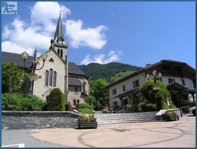 Eglise de praz sur arly photo 400x302 - Office de tourisme praz sur arly ...