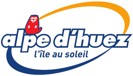 Logo Alpe d'huez station de ski en Savoie, Alpe Française