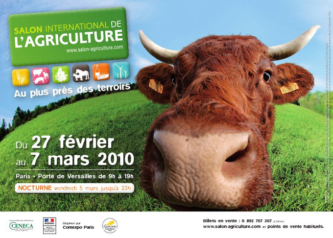 Affiche salon de l 39 agriculture 2010 photo 680x486 - Acces salon de l agriculture ...