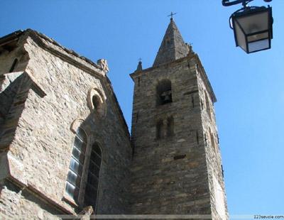 Église de Bonneval-sur-Arc © 123 Savoie