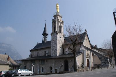 Eglise Notre-Dame de Myans © Sergio Palumbo - 123 Savoie