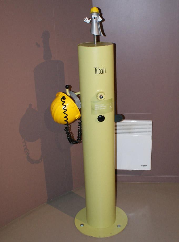 Tubalu, la mascotte de l'Espace Alu - © Sergio Palumbo - 123 Savoie