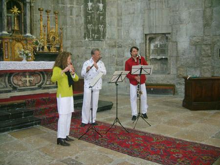 Animation musicale lors des Journées du patrimoine - Septembre 2008  © 123 Savoie