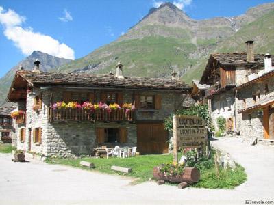 maison de Bonneval-sur-Arc © 123 Savoie