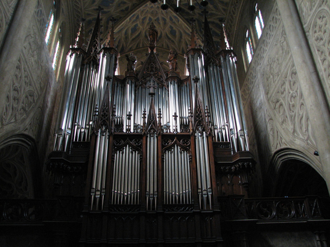 orgue de la cathédrale de chambery © Sergio Palumbo - 123 Savoie