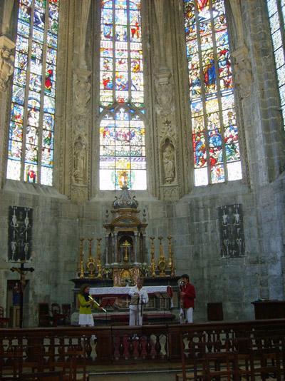 Vitraux de la Sainte-Chapelle © 123 Savoie