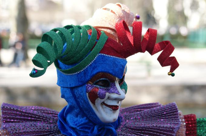 5. Éternel Joker - Carnaval d'Annecy 2014 © 123 Savoie
