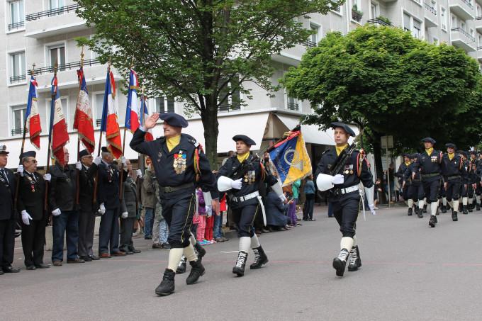 13ème BCA - Commémorations du 8 mai 2014 © 123 Savoie