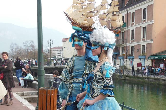 6. Magnifiques marines - Carnaval d'Annecy 2014 © 123 Savoie