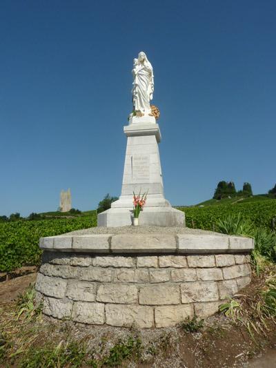 Statue récemment rénovée - © Marc Tissot (2011)