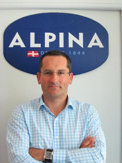 Jean-Philippe Lefrançois, Directeur Général d'Alpina Savoie