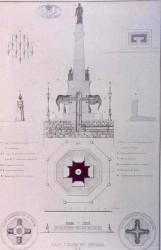 Plan de la Fontaine des Eléphants