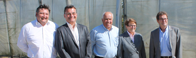 Stéphane Fages, Patrice Jacquin, Bernard Sevez, Josiane Beaud et Alain Thieffenat- © Sergio Palumbo - 123 Savoie