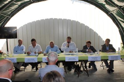 Vincent Rolland, Patrice Jacquin, Bernard Sevez, Stéphane Fages, Josiane Beaud et Alain Thieffenat - © Sergio Palumbo - 123 Savoie
