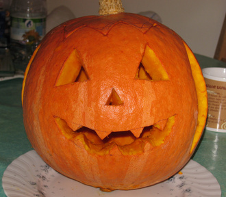 citrouille d'Halloween © 123 Savoie