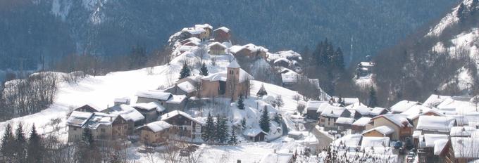 église Saint Sigismond à Champagny-en-Vanoise © 123 Savoie