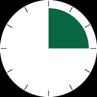 temps durée montre 15mn