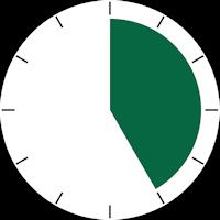 temps durée montre 25mn