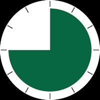 temps durée montre 45mn