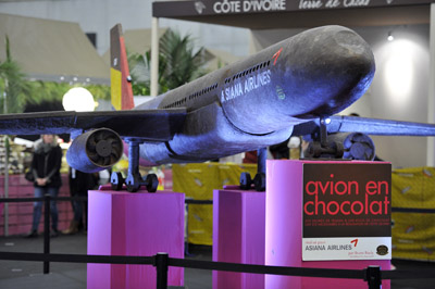 Avion en chocolat - © Julien Millet