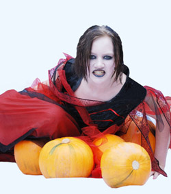 Halloween jeune femme