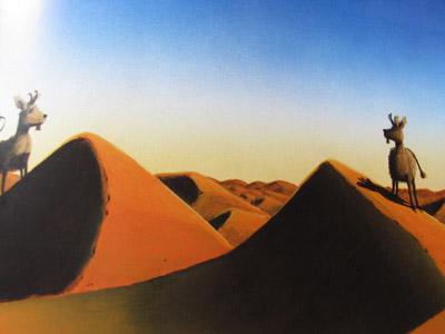 Le Dahu du désert - Dahus Méharis
