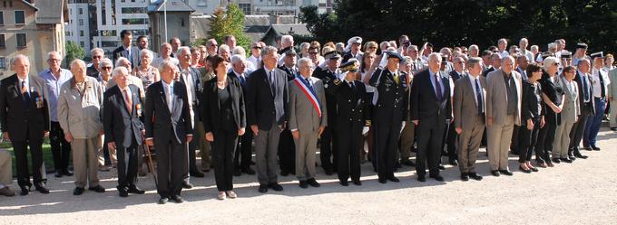 Salut des officiels - Clos Savoiroux © 123 Savoie