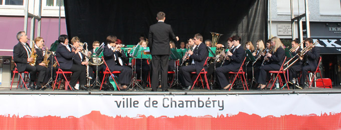 Grand orchestre de l'harmonie municipale de Tailfingen (Stadtkapelle Tailfingen) © Sergio Palumbo - 123 Savoie