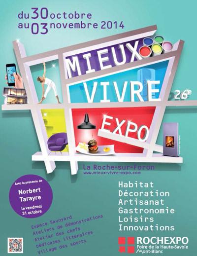 Affiche Le Salon Mieux Vivre Expo 2014