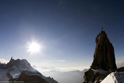 Aiguille d'Entrêves - © OT Chamonix - Mario Colonel