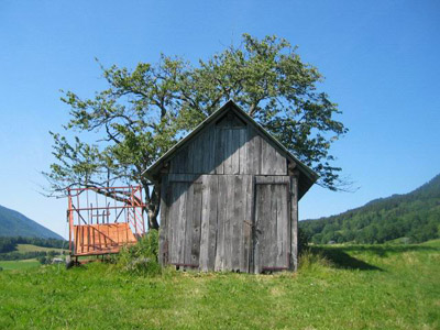 Cabane à Bellecombe-en-Bauges - © 123 Savoie